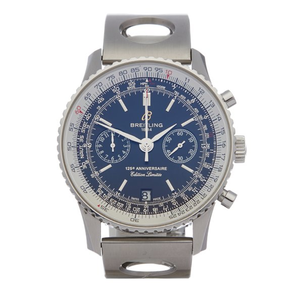 Breitling Navitimer 125th Anniversary Chronograph Stainless Steel - A26322