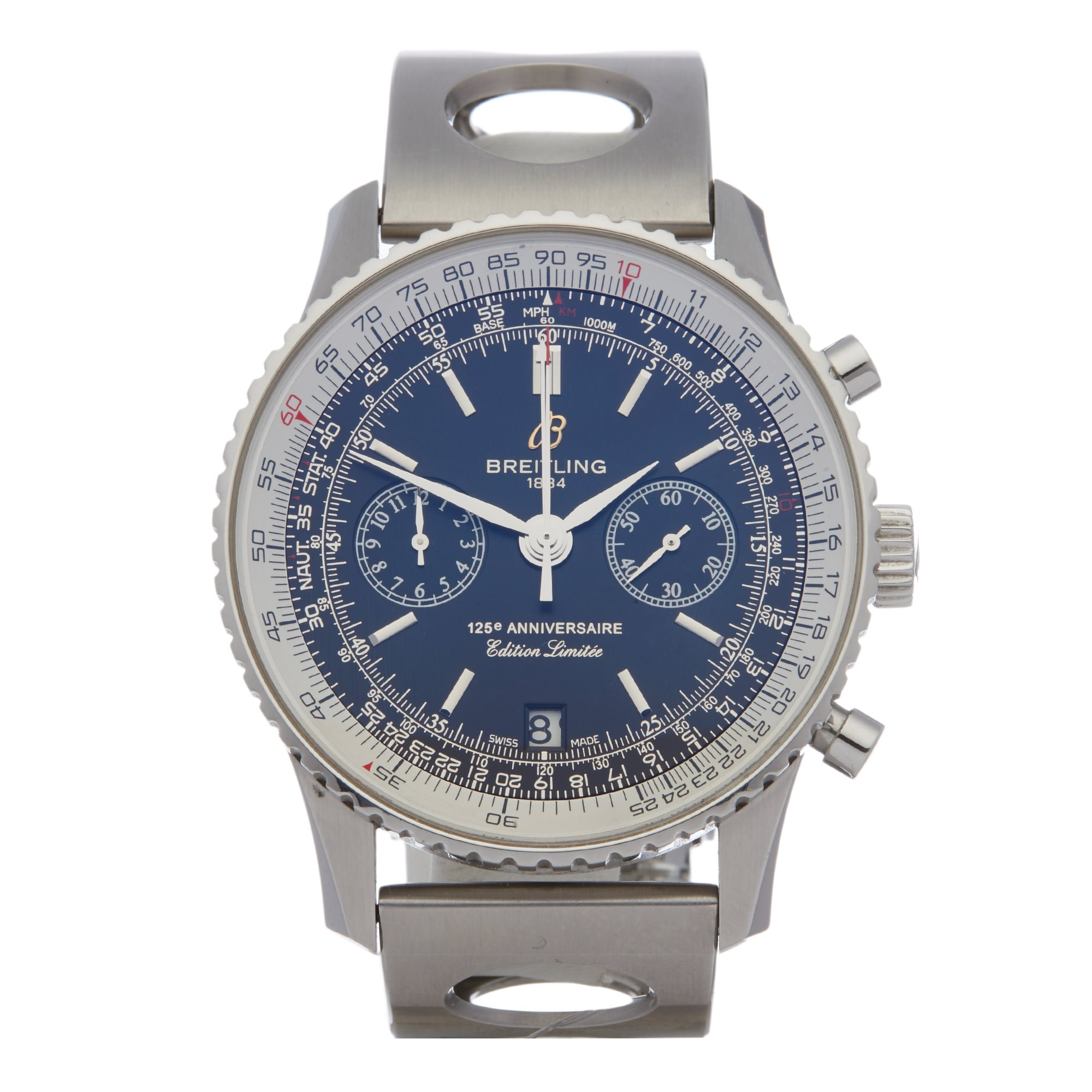 Breitling Navitimer 125th Anniversary Chronograph Stainless Steel A26322