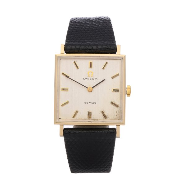 Omega De Ville 18K Yellow Gold