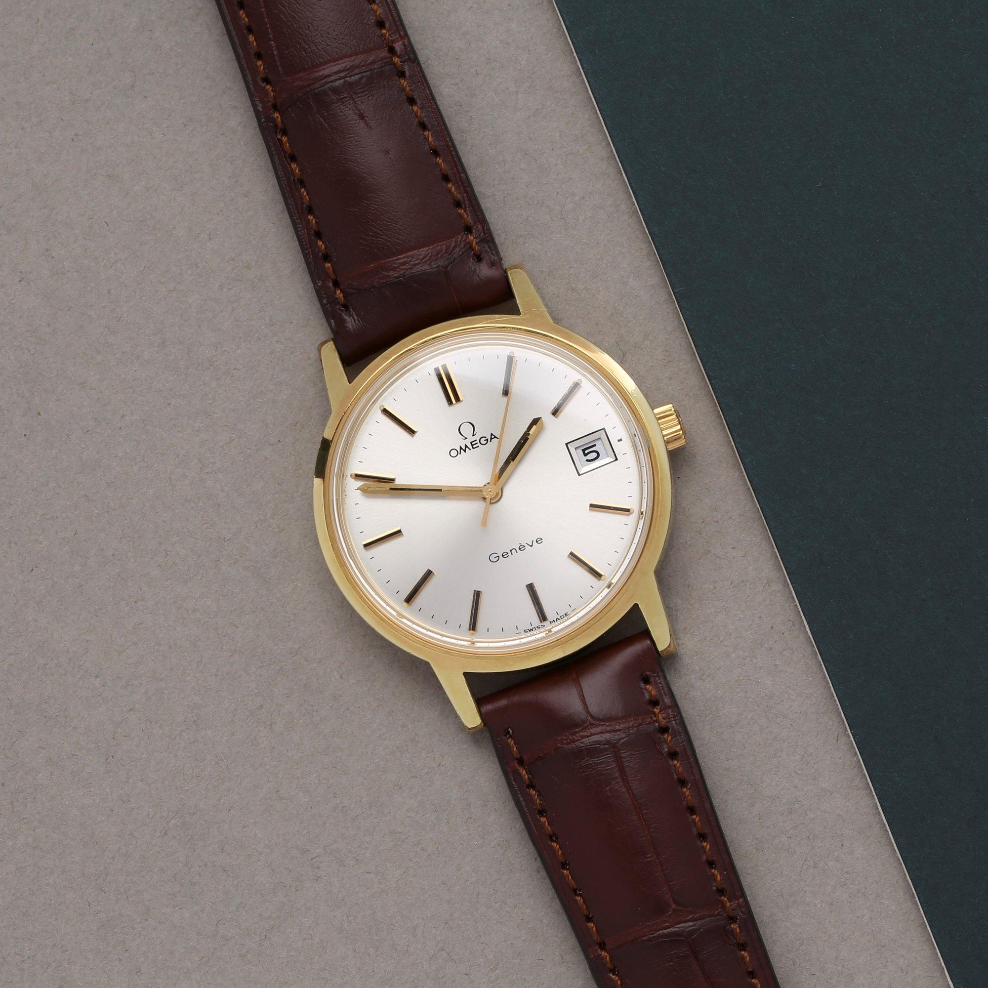 Omega Vintage 18K Yellow Gold 1360099