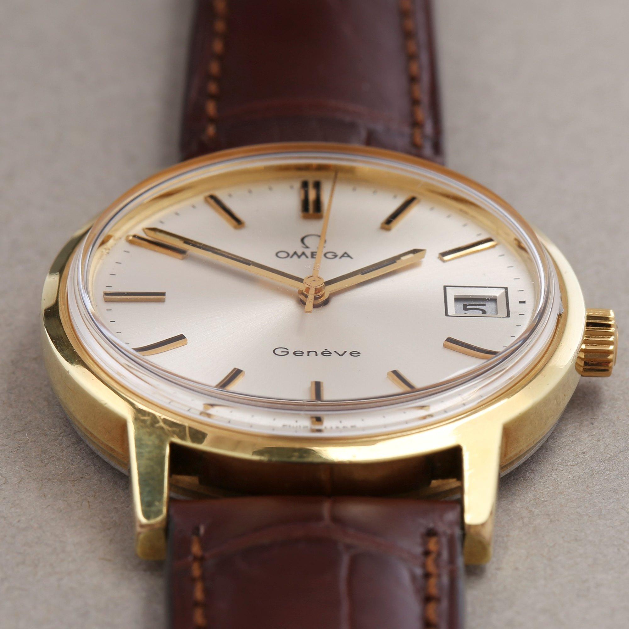 Omega Vintage 18K Geel Goud 1360099