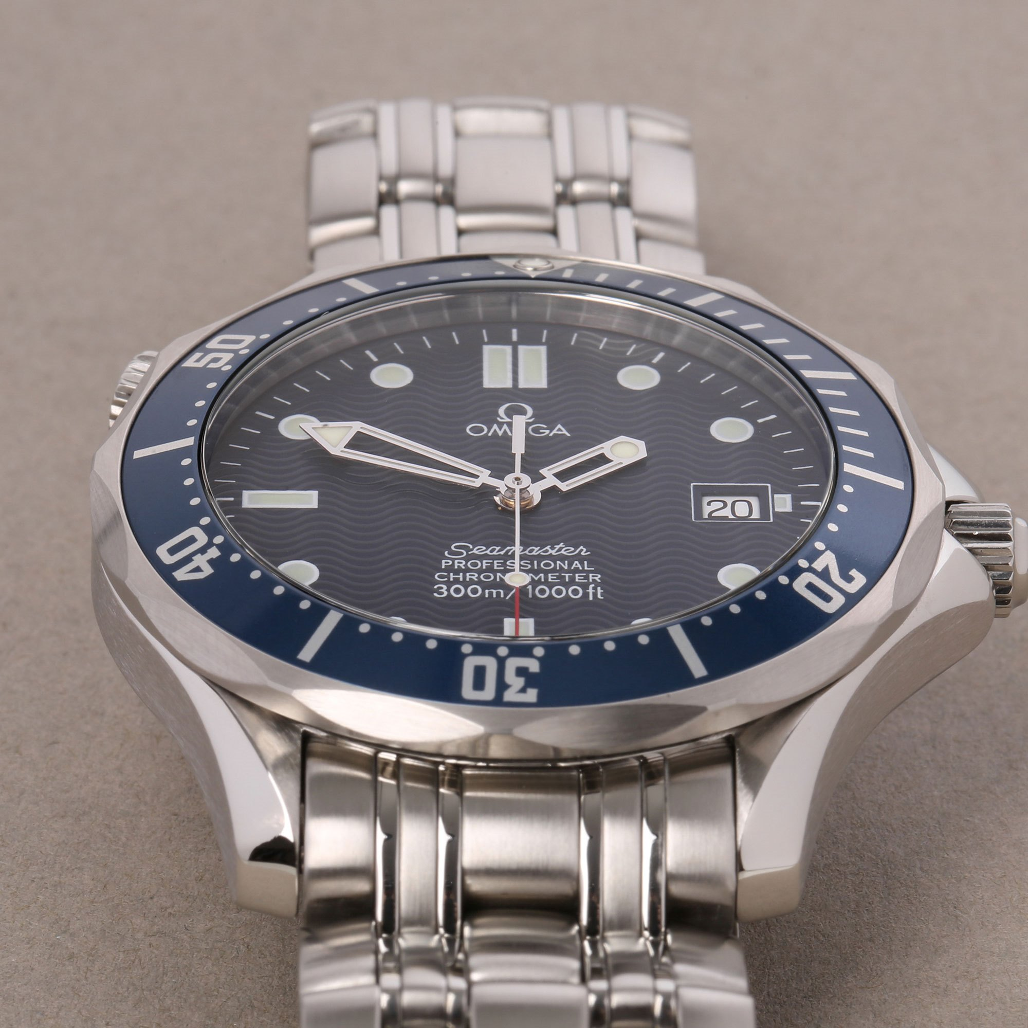 Omega Seamaster 300m Roestvrij Staal 25318000