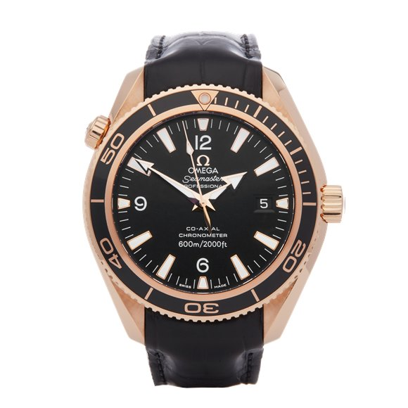 Omega Seamaster Planet Ocean 600m 18K Rose Gold - 232.63.42.21.01.001