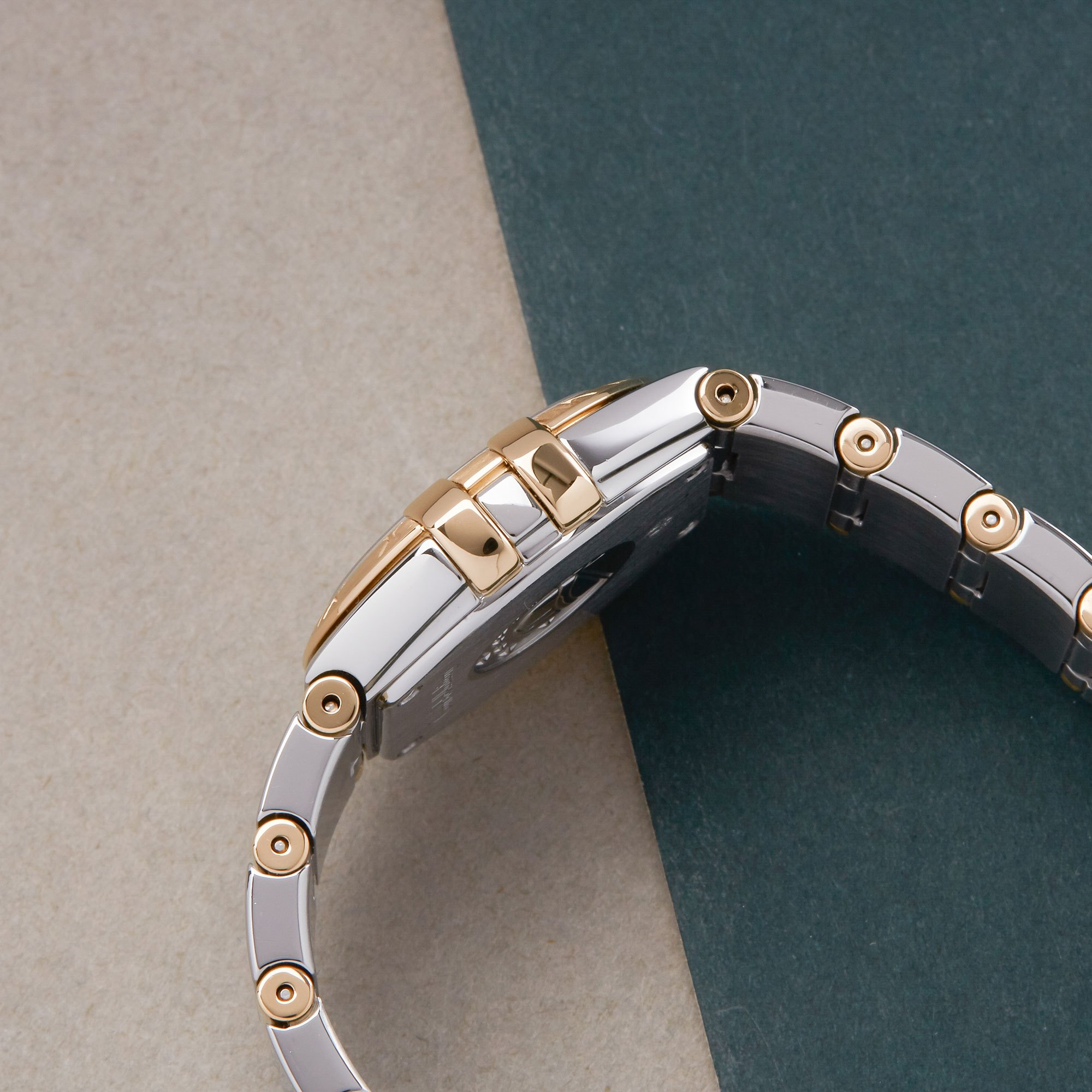 Omega Constellation 18K Yellow Gold & Stainless Steel 123.20.24.60.05.002
