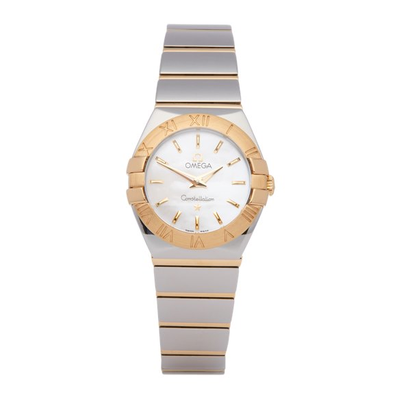 Omega Constellation 18K Stainless Steel & Yellow Gold