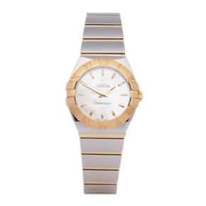 Omega Constellation 18K Stainless Steel & Yellow Gold - 123.20.24.60.05.002