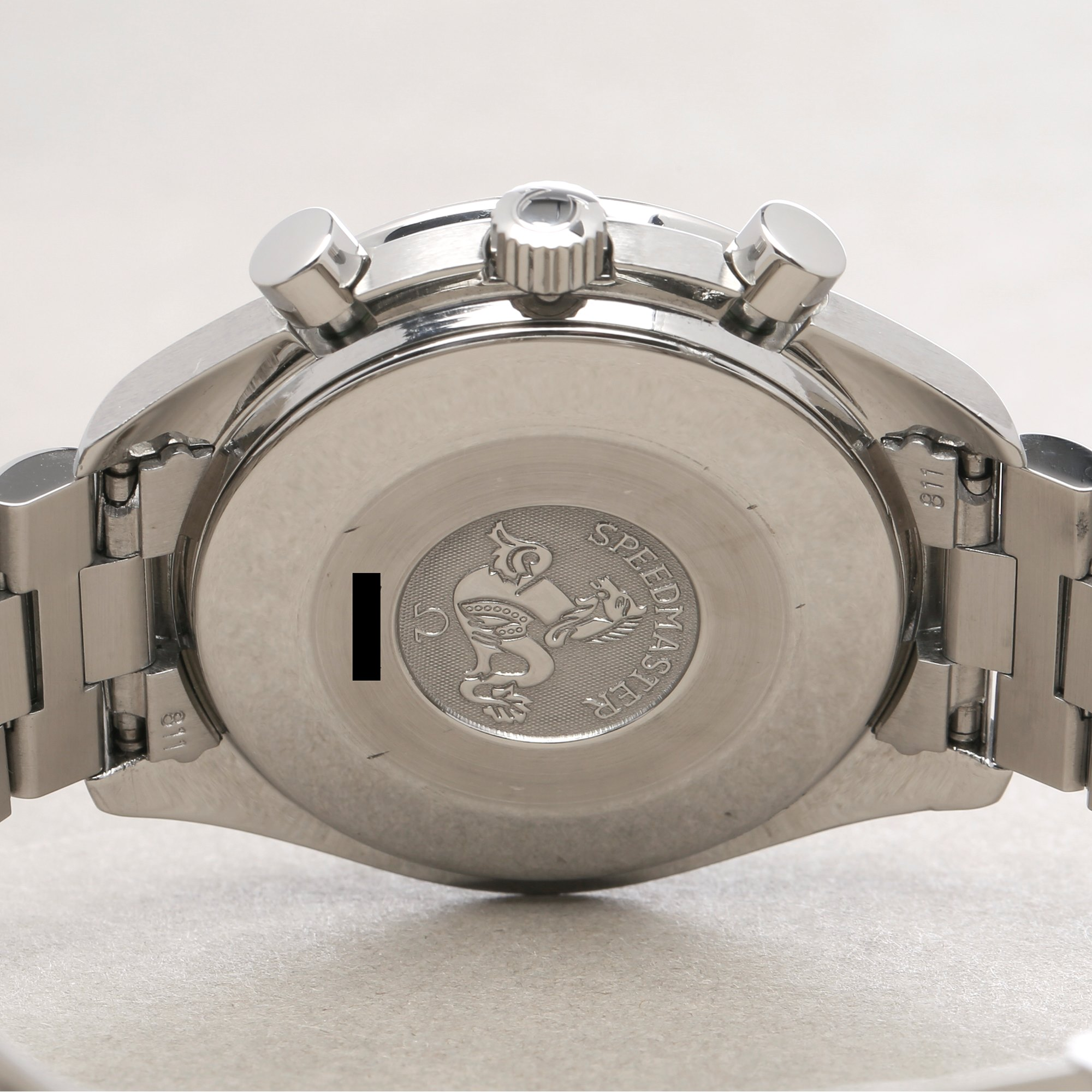 Omega Speedmaster Reduced Chronograph Roestvrij Staal 3510.50.00