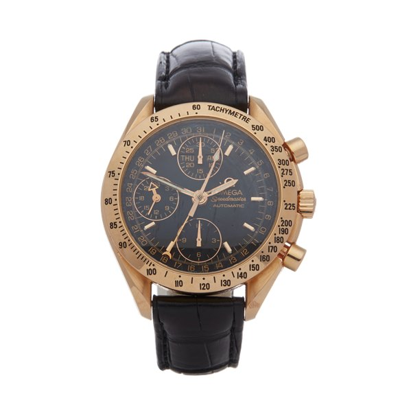 Omega Speedmaster Day Date Chronograph 18K Rose Gold - 3623.50.01
