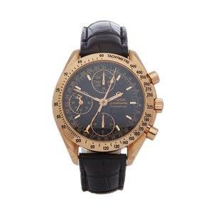 Omega Speedmaster Day Date Chronograph 18K Rose Gold - 3623.50.01