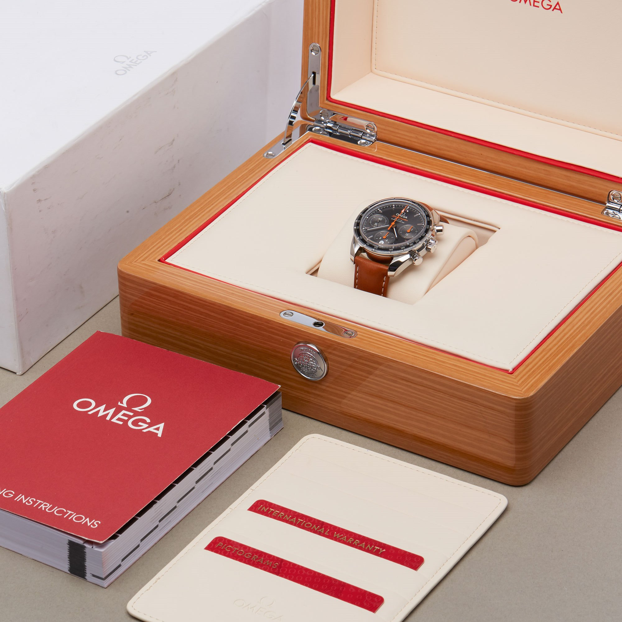 Omega Speedmaster Co-Axial Chronograph Roestvrij Staal 324.32.38.50.06.001