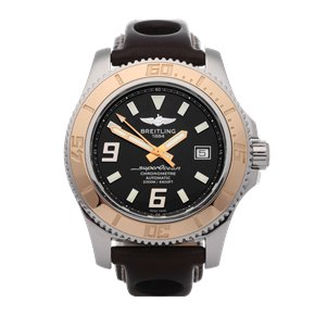 Breitling Superocean II 44 18K Stainless Steel & Rose Gold - C17391