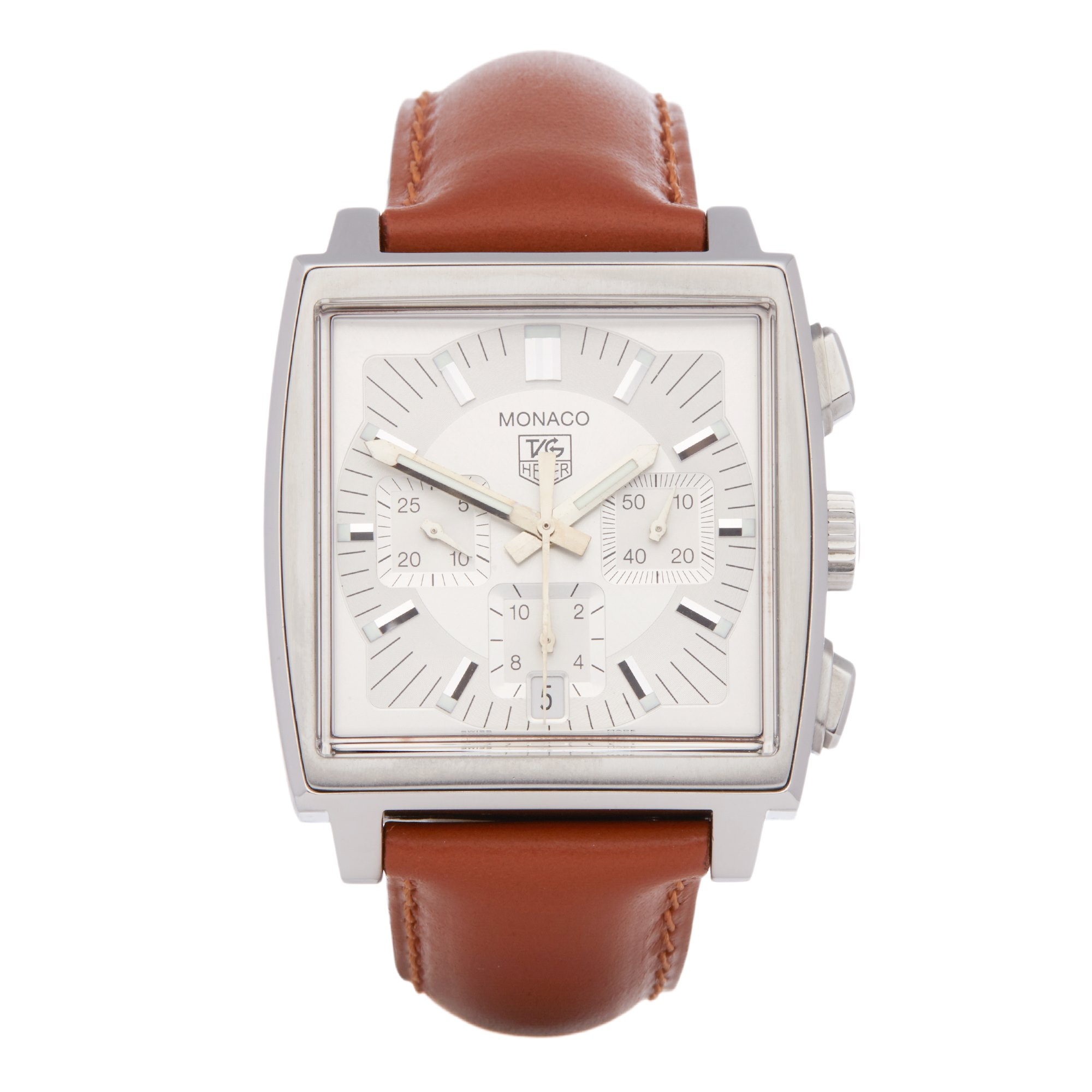 Tag Heuer Monaco Chronograph Stainless Steel CW2112-0