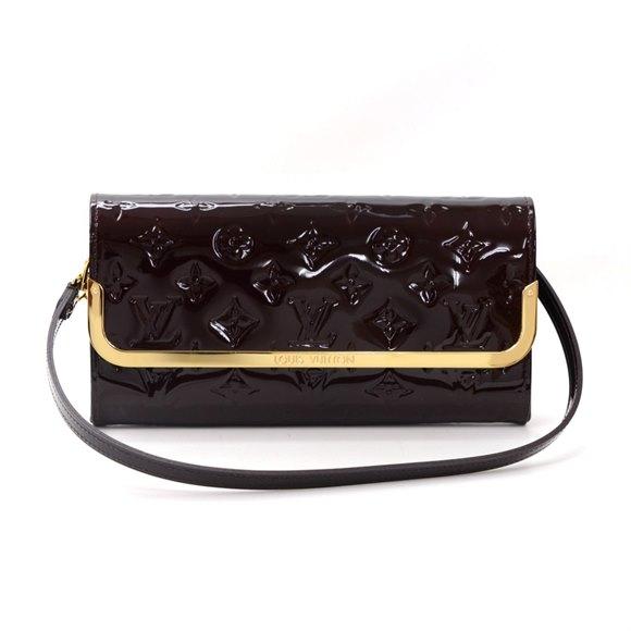 Louis Vuitton Purple Vernis Leather Rossmore MM