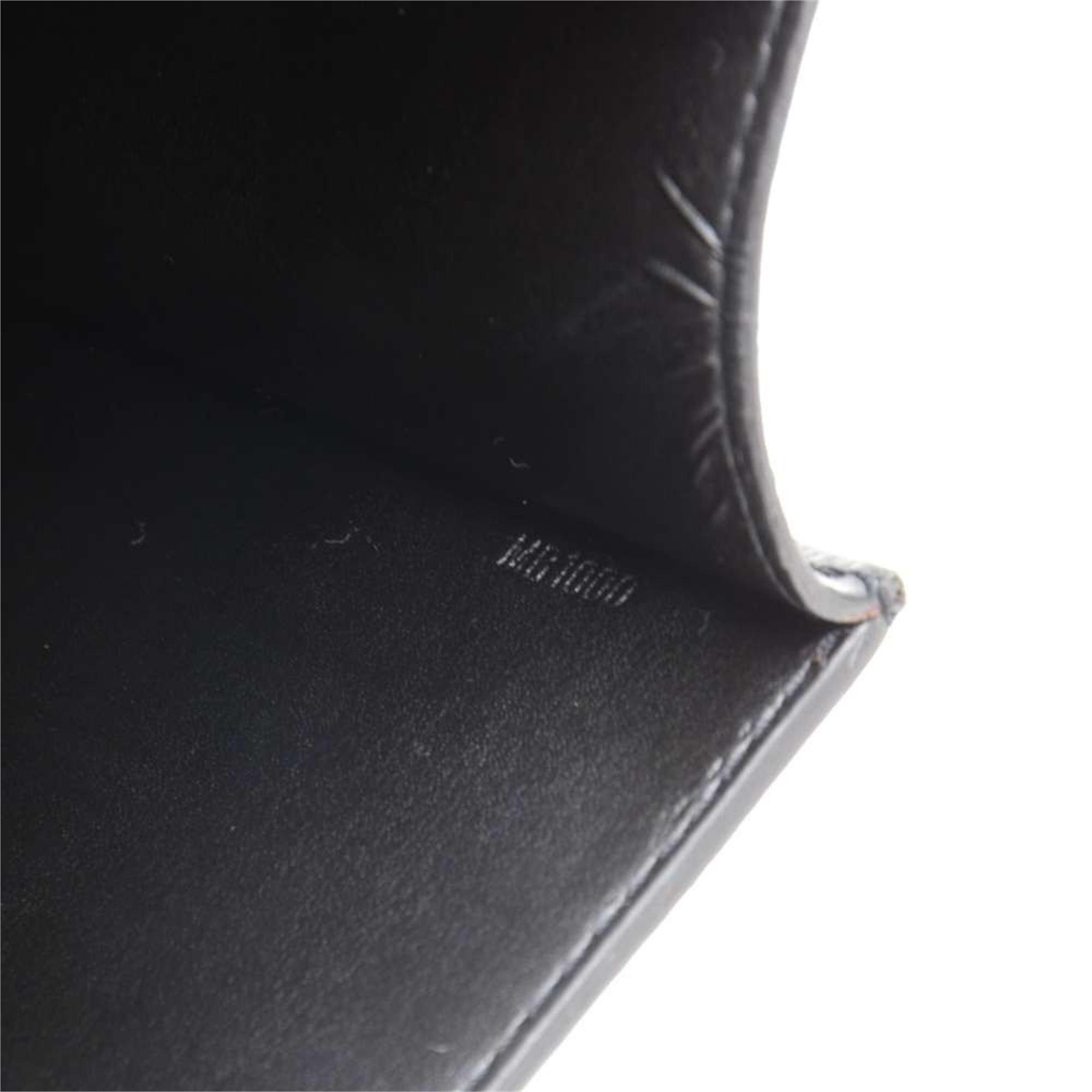 Louis Vuitton Black Taiga Leather Serviette Tobol