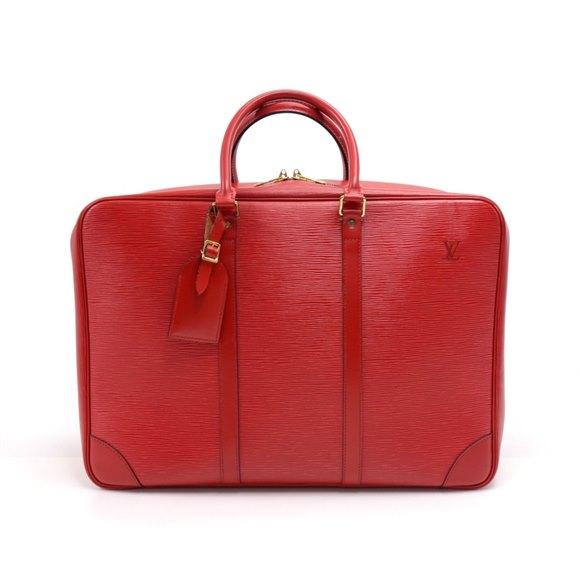 Louis Vuitton Red Epi Leather Sirius 45