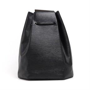 Louis Vuitton Louis Vuitton Black Epi Leather Vintage Sac A Dos