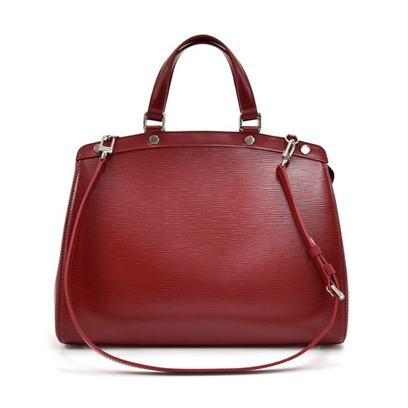 Louis Vuitton Carmine Red Epi Leather Brea GM