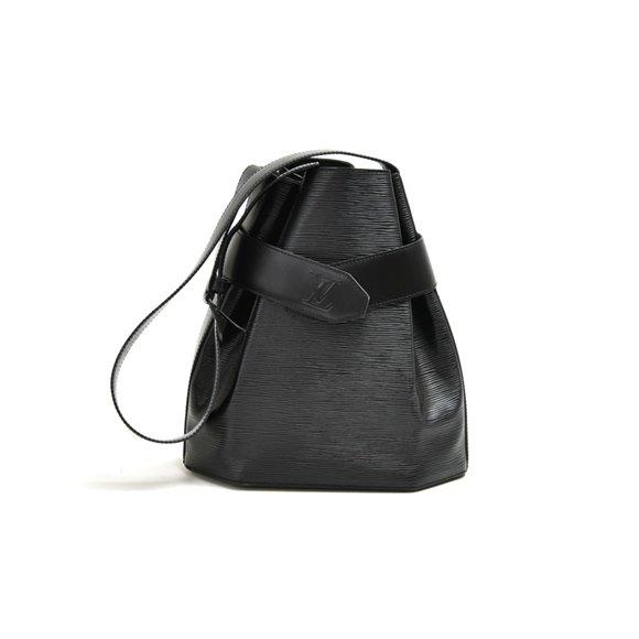 Louis Vuitton Black Epi Leather Vintage Sac D'epaule PM