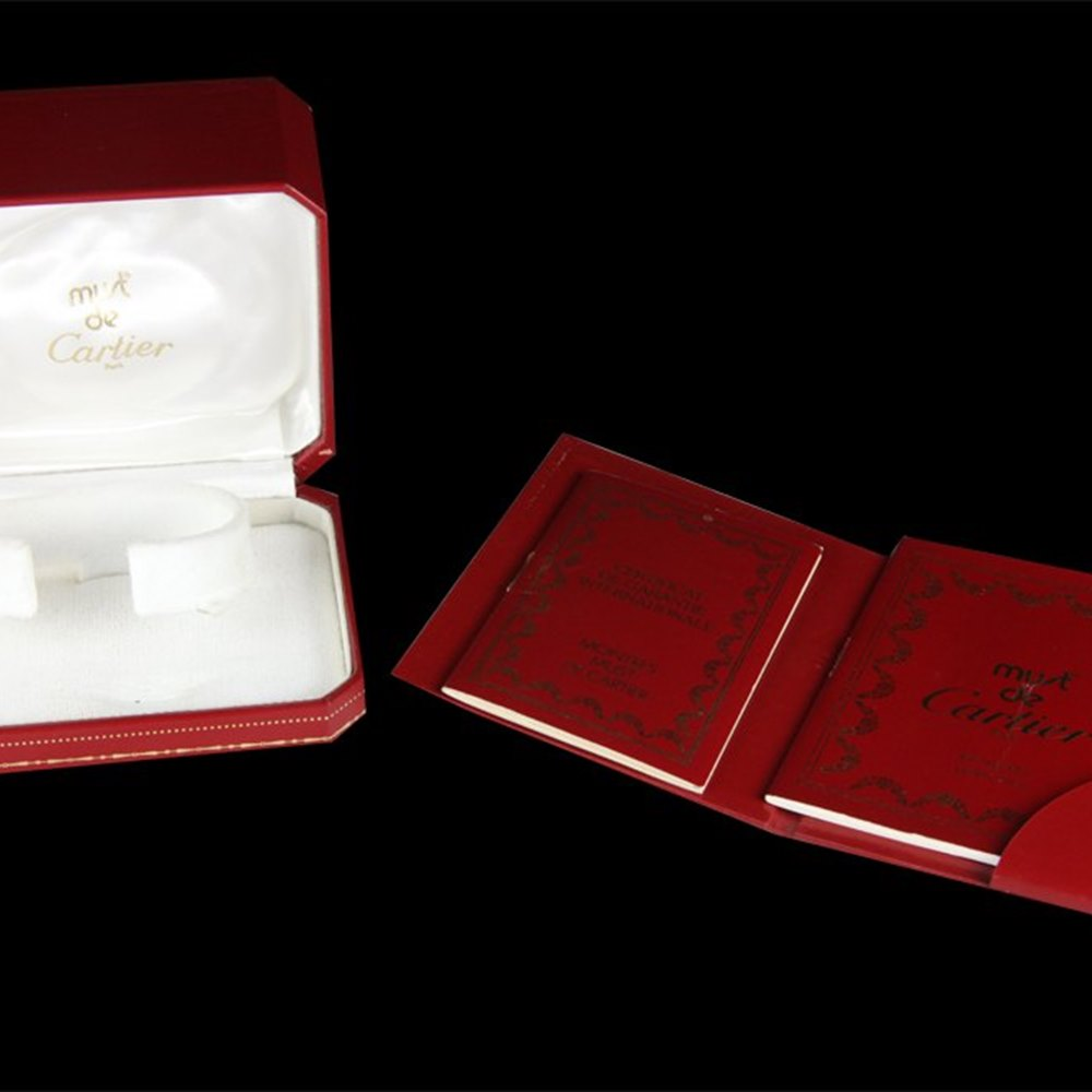 Cartier Must De Cartier 18k Yellow Gold Plated 925 Sterling Silver 18000