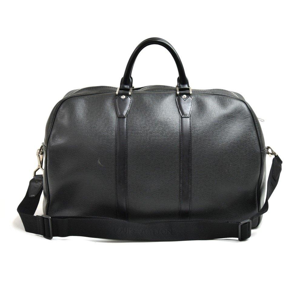 Louis Vuitton Black Taiga Leather Kendall PM