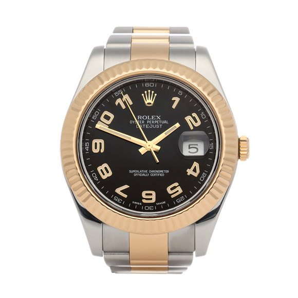 Rolex Datejust 41 18K Yellow Gold & Stainless Steel - 116333