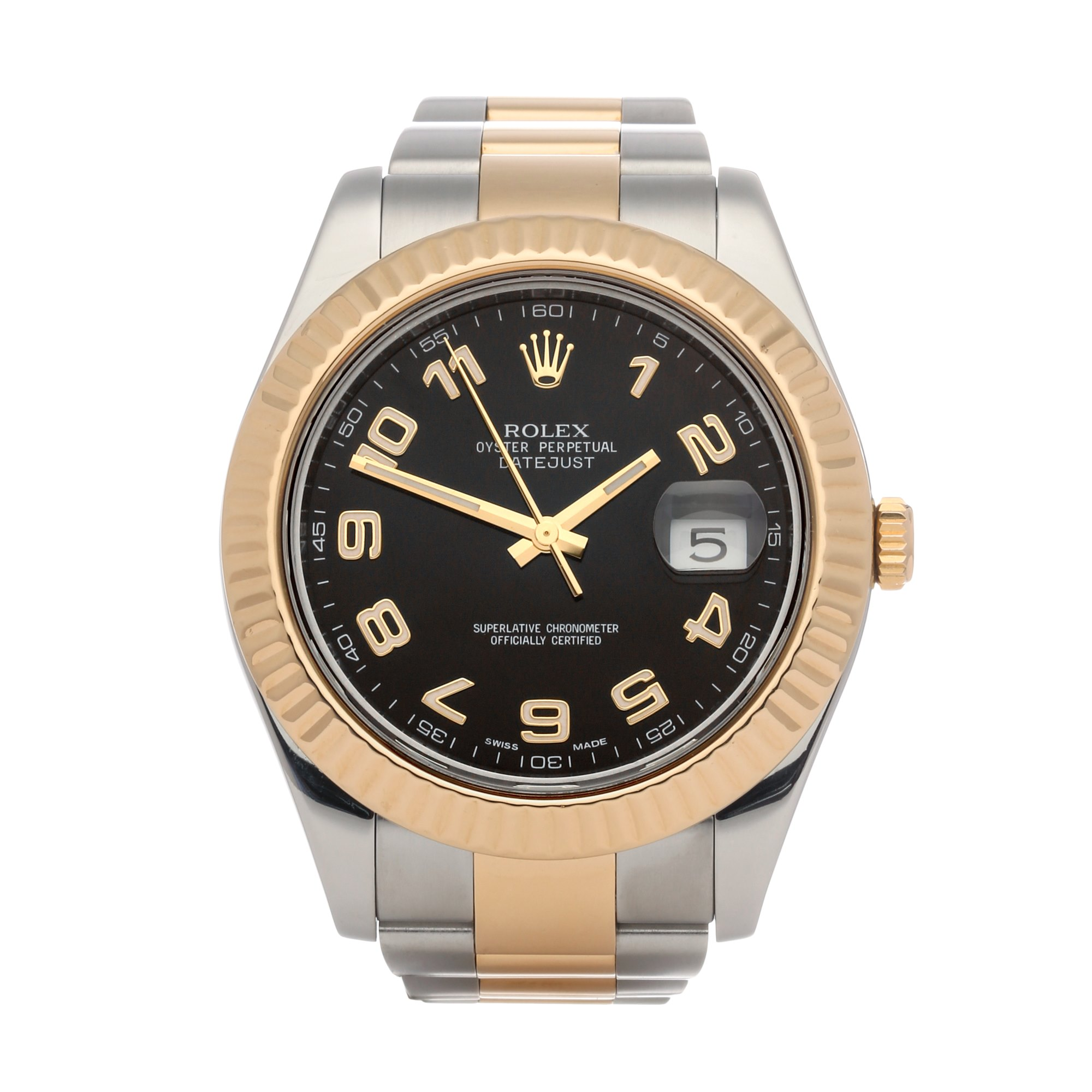 Rolex Datejust 41 18K Yellow Gold & Stainless Steel 116333