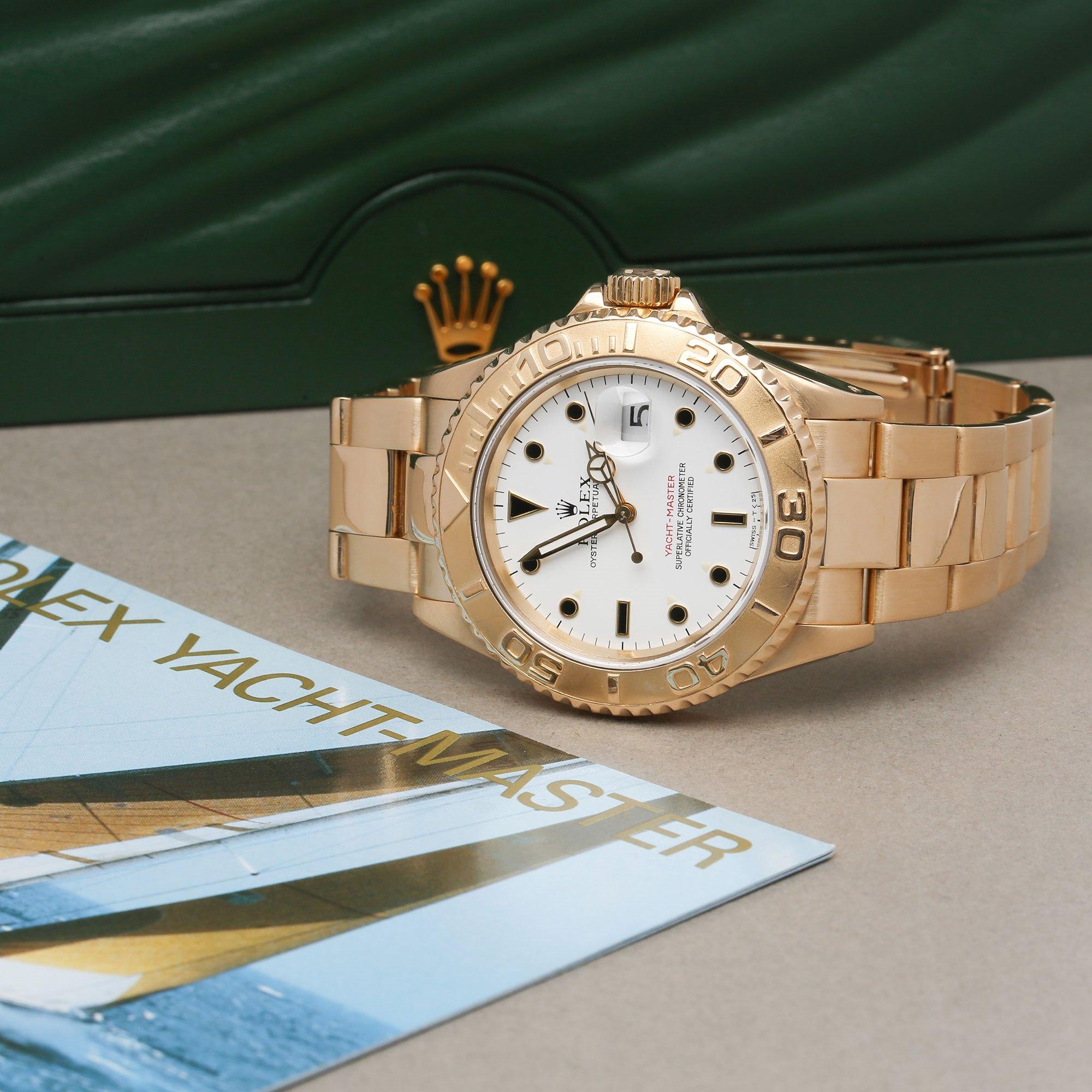 Rolex Yacht-Master 40 18K Geel Goud 16628