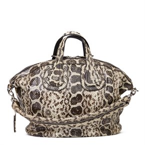Givenchy Natural Python Leather Nightingale
