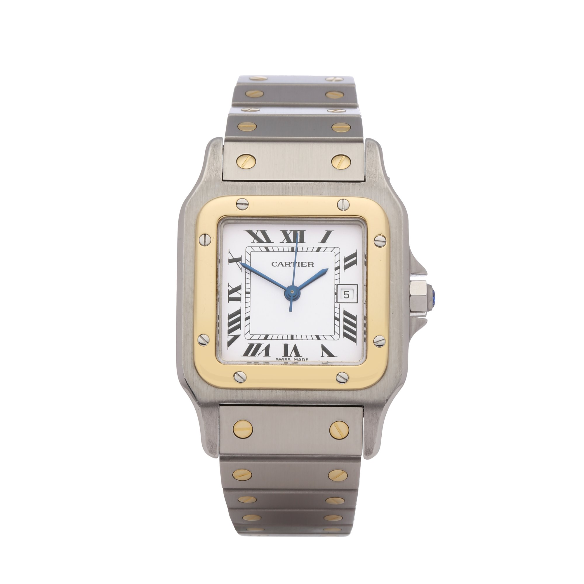 Cartier Santos Galbee Large Automatic 18K Stainless Steel & Yellow Gold 2961