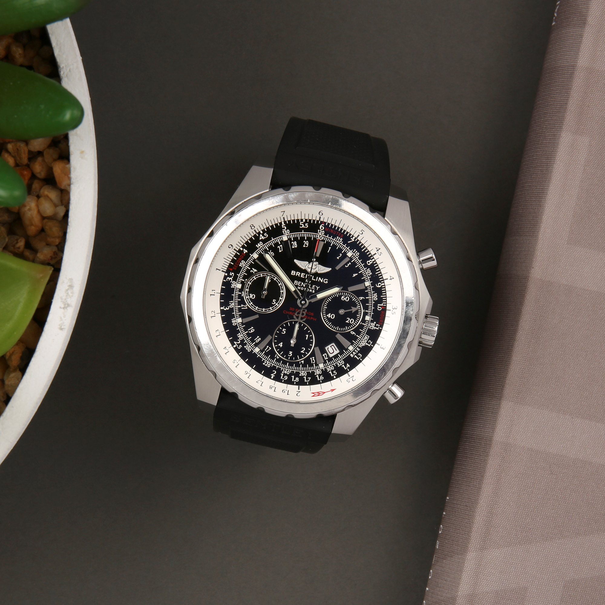 Breitling Bentley Motors T Chronograph Stainless Steel A25363