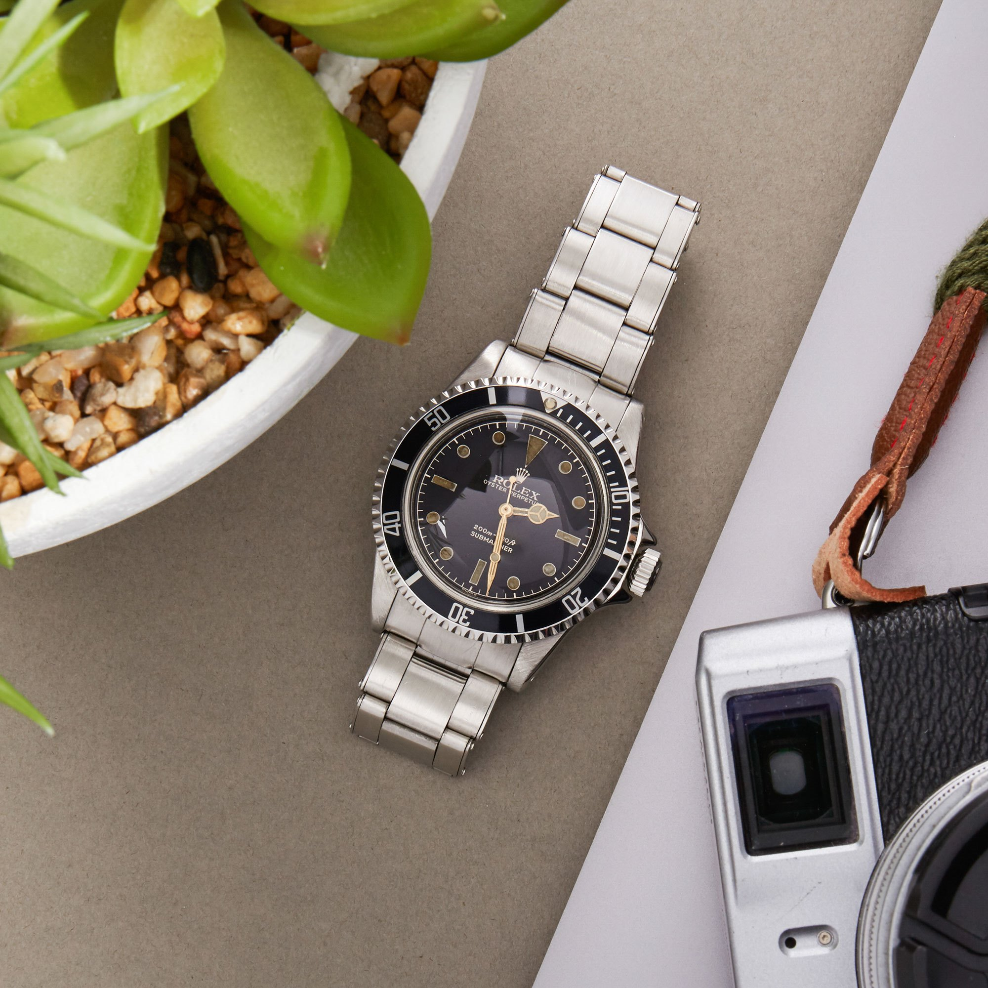 Rolex Submariner Non Date PGC Gilt Gloss Meters First Stainless Steel - 5512 Stainless Steel 5512