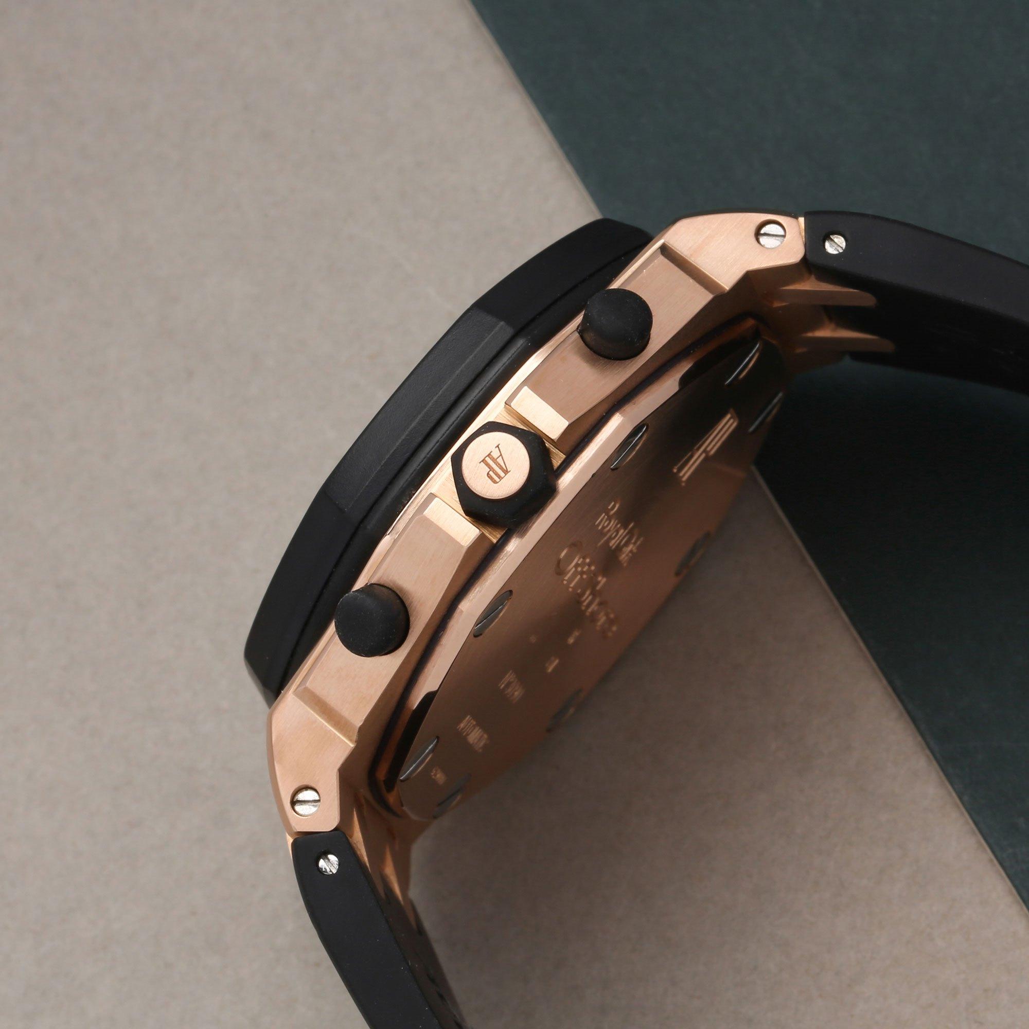 Audemars Piguet Royal Oak Offshore Chronograph Rubber Clad 18K Rose Gold 25940OK.OO.D002CA.01.A