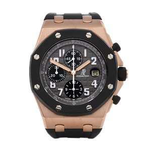 Audemars Piguet Royal Oak Offshore Chronograph Rubber Clad 18K Rose Gold - 25940OK.OO.D002CA.01.A