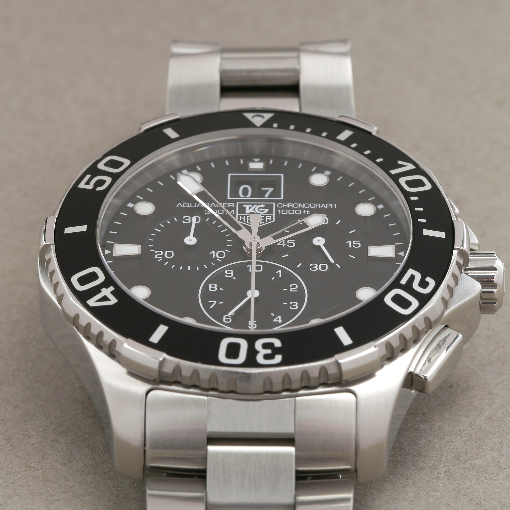 Tag Heuer Aquaracer 300M Chronograph Roestvrij Staal CAN1010