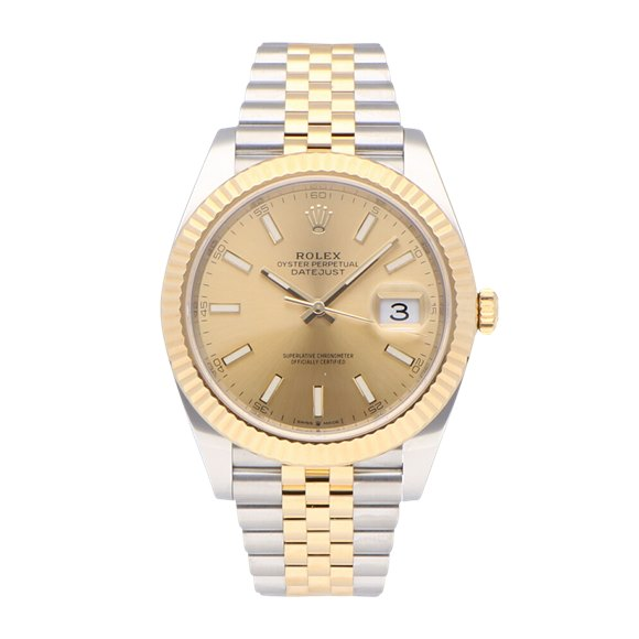 Rolex Datejust Stainless Steel & Yellow Gold - 126333