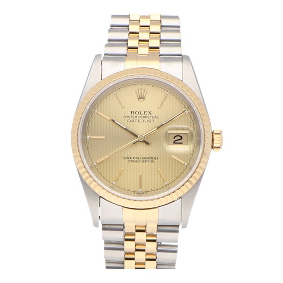 Rolex Datejust Stainless Steel & Yellow Gold - 16233OCC