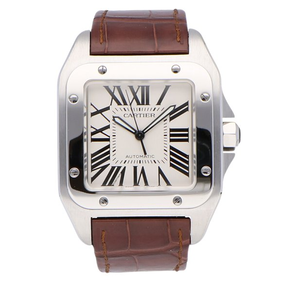 Cartier Santos 100 LM Stainless Steel - W20073X8