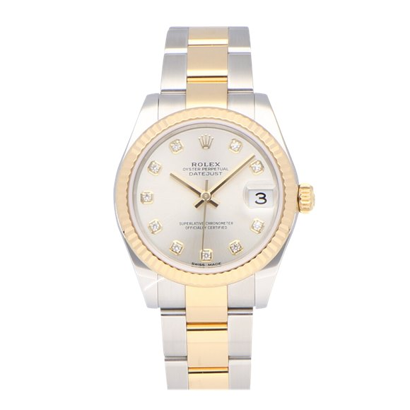 Rolex Datejust Stainless Steel & Yellow Gold - 178273