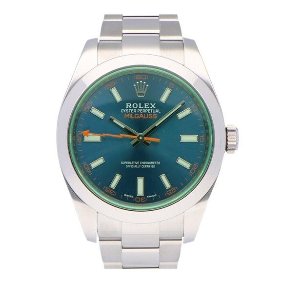 Rolex Milgauss Stainless Steel - 116400GV