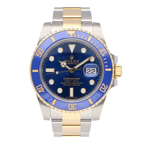 Rolex Submariner Date Stainless Steel & Yellow Gold - 116613LB-0005