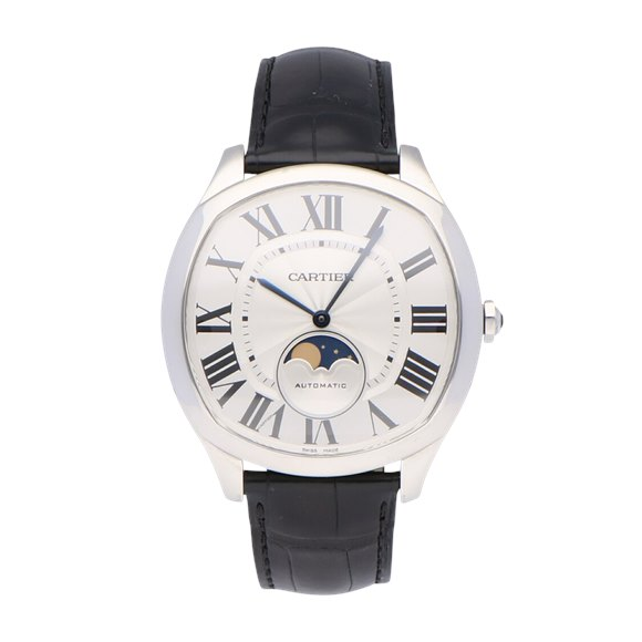 Cartier Drive de Cartier Moon Phase Stainless Steel - WSNM0008