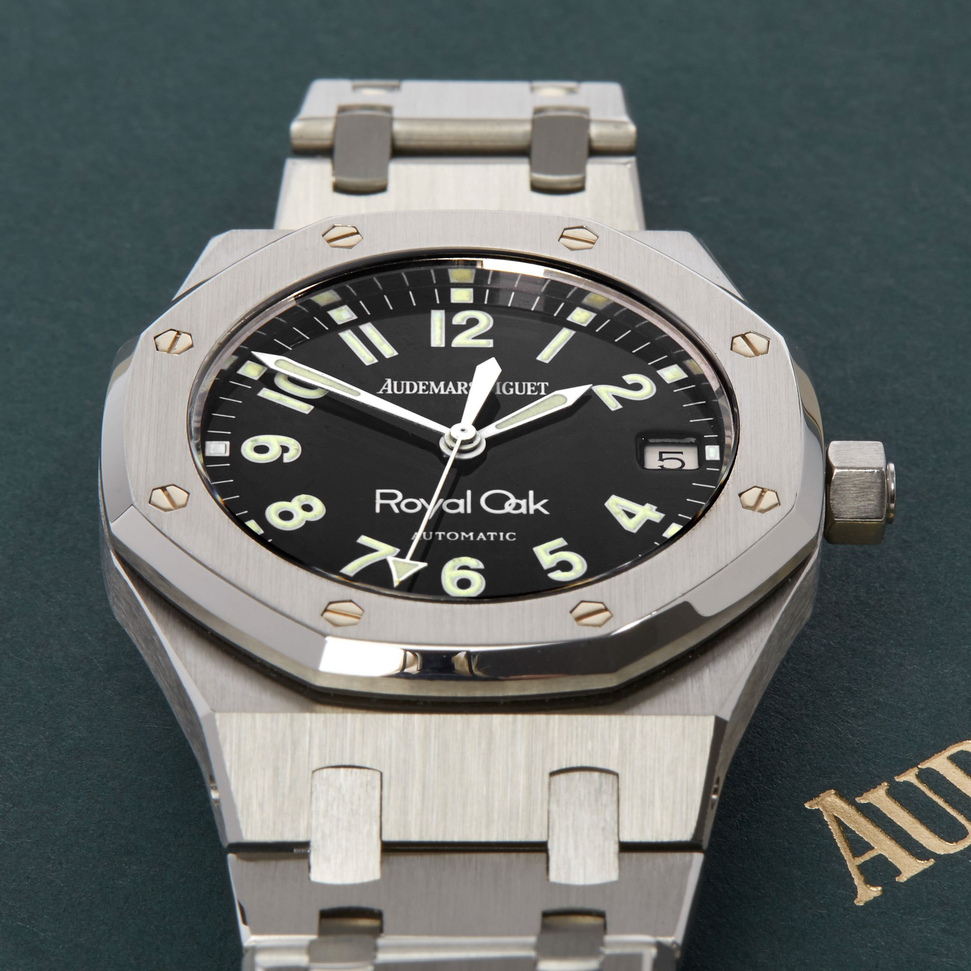 Audemars Piguet Royal Oak Military Dial NOS Stainless Steel - 14790ST Roestvrij Staal 14790ST