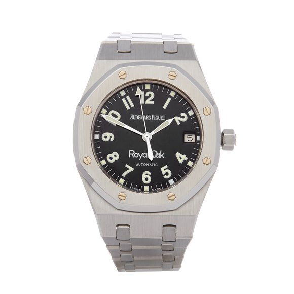 Audemars Piguet Royal Oak Nick Faldo Military Dial NOS Stainless Steel - 14790ST