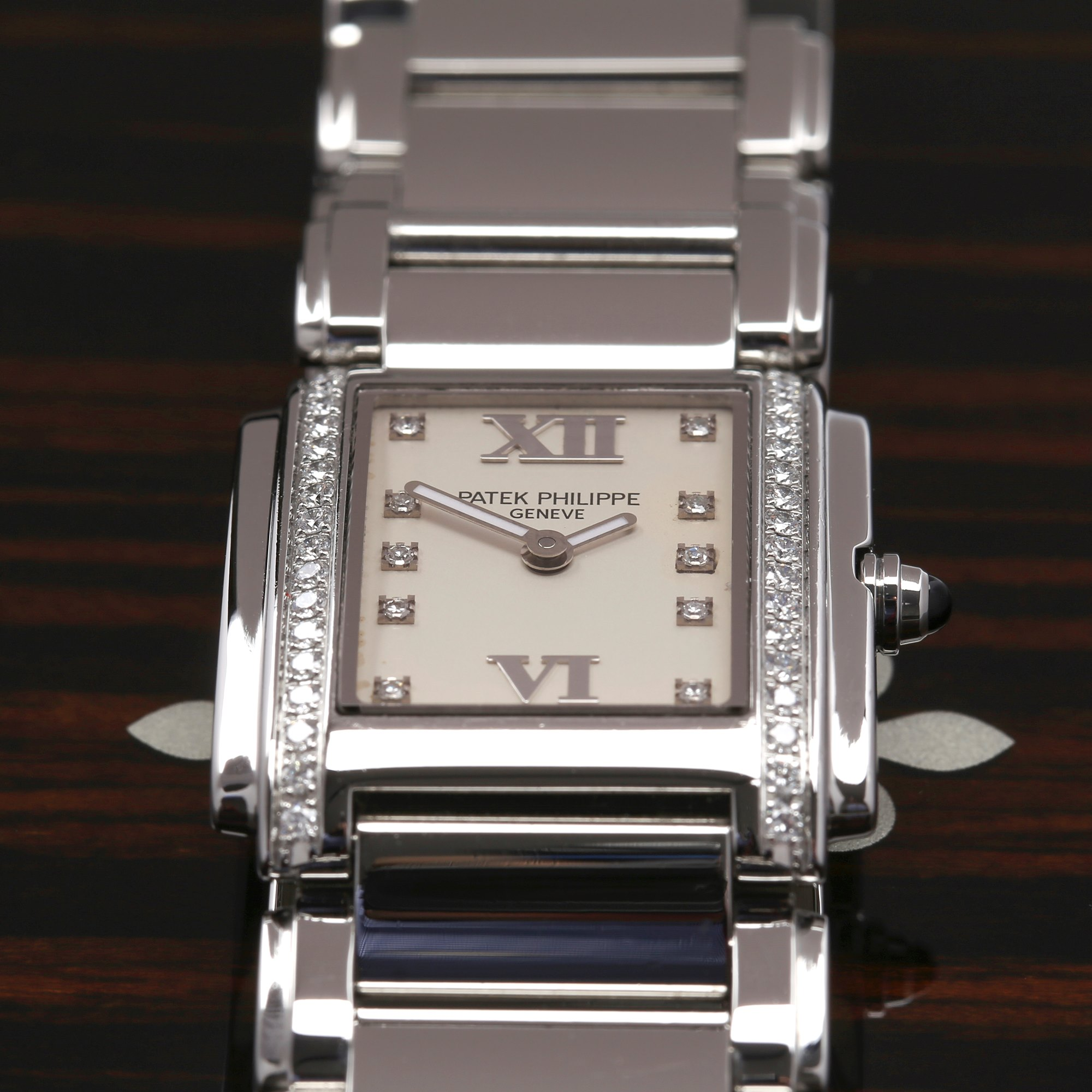 Patek Philippe Twenty-4 Diamond Stainless Steel 4910/10A