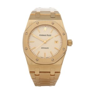 Audemars Piguet Royal Oak NOS Unpolished 18K Yellow Gold