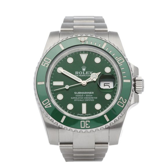 Rolex Submariner Hulk Stickered NOS Stainless Steel - 116610LV