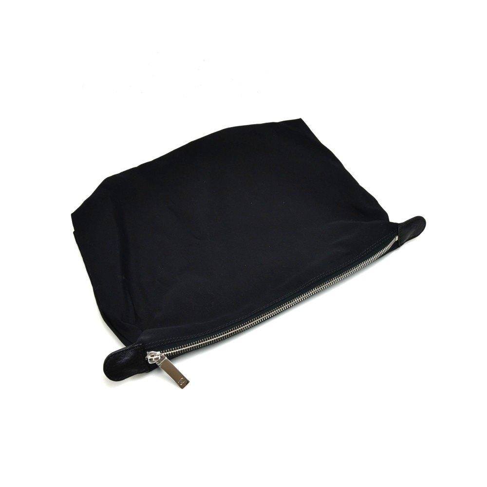 Chanel Black Calfskin Leather Medium Cerf Tote