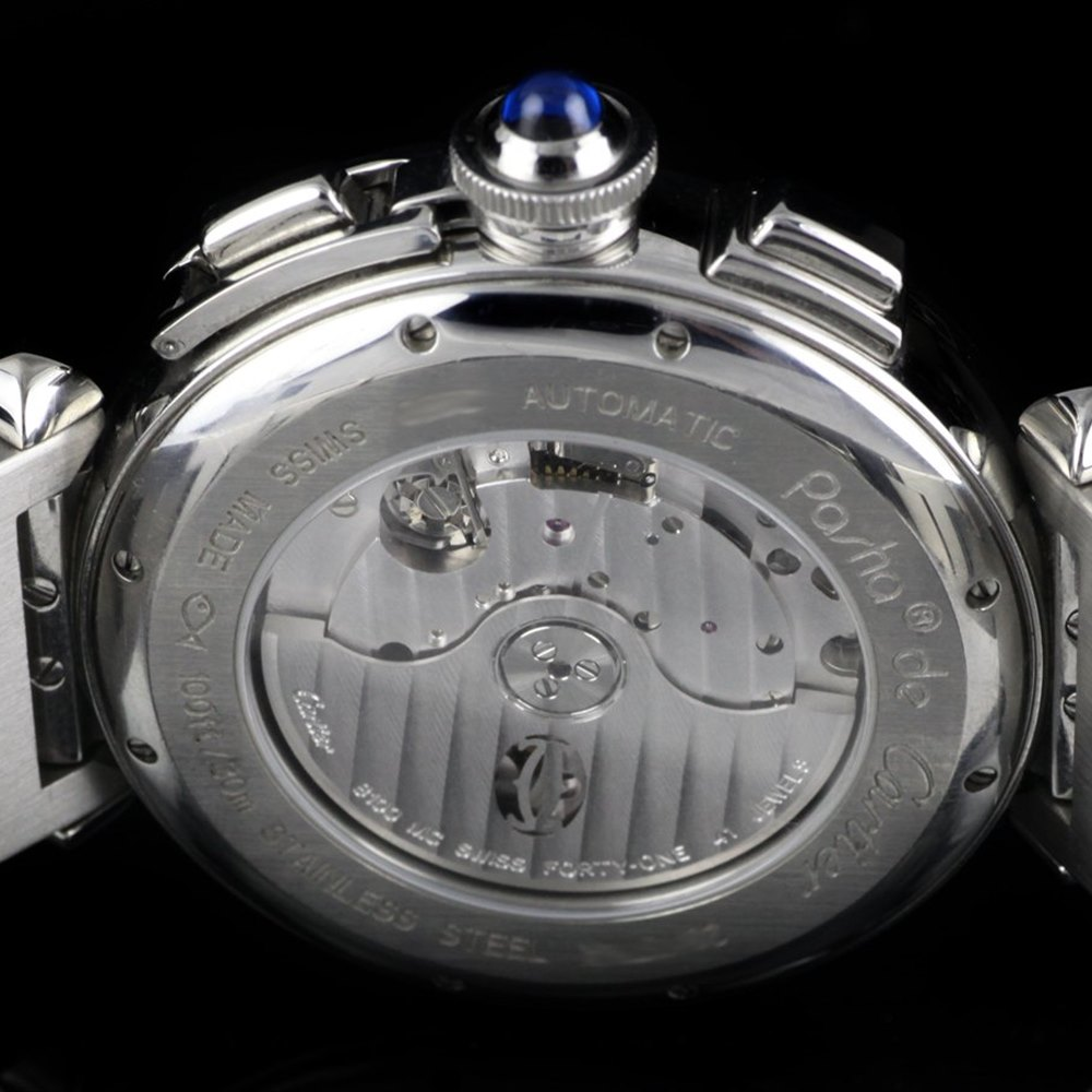 Cartier Pasha Stainless Steel W31089M7