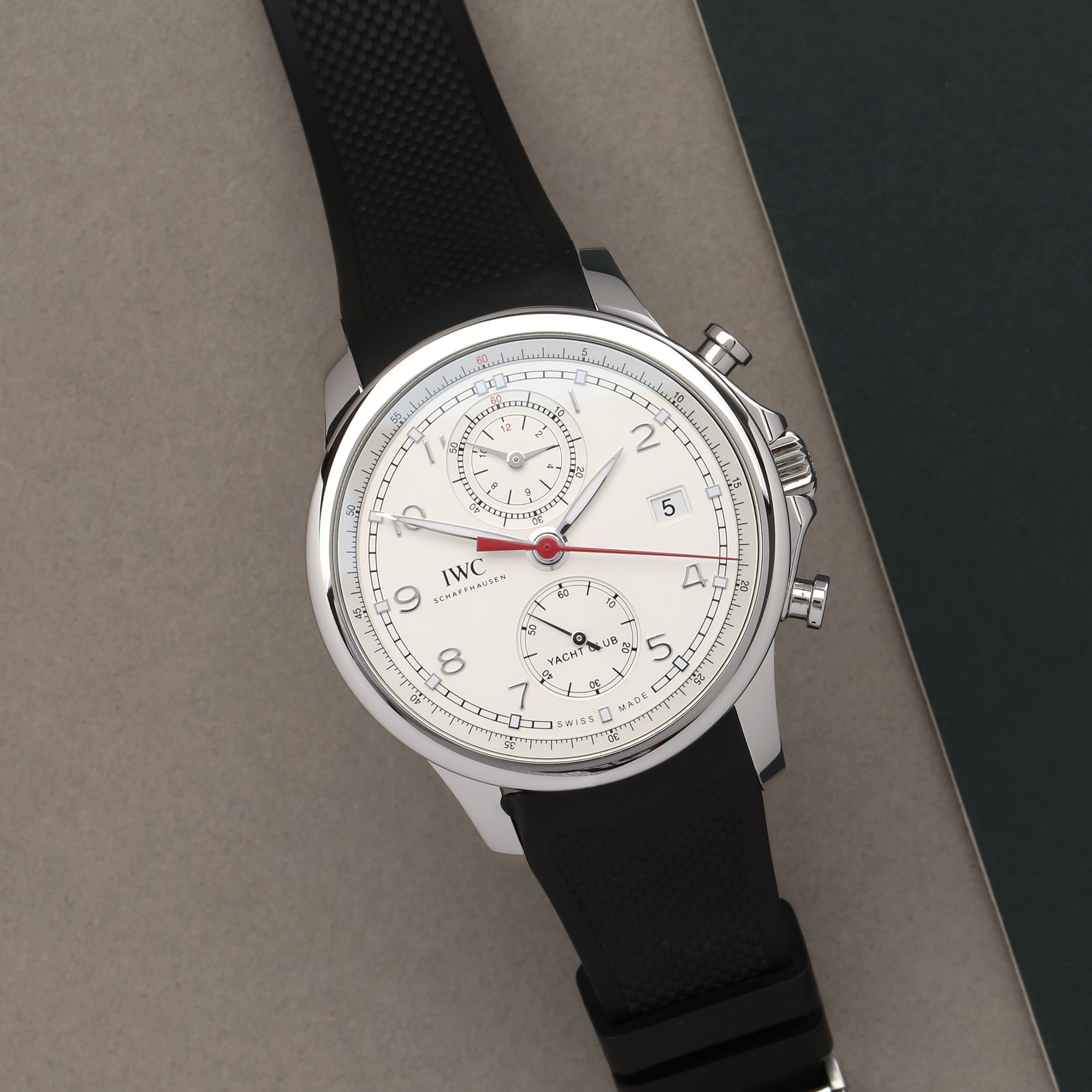 IWC Portuguese Yacht Club Chronograph Roestvrij Staal IW390502