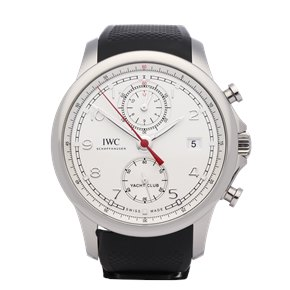 IWC Portuguese Yacht Club Chronograph Stainless Steel - IW390502